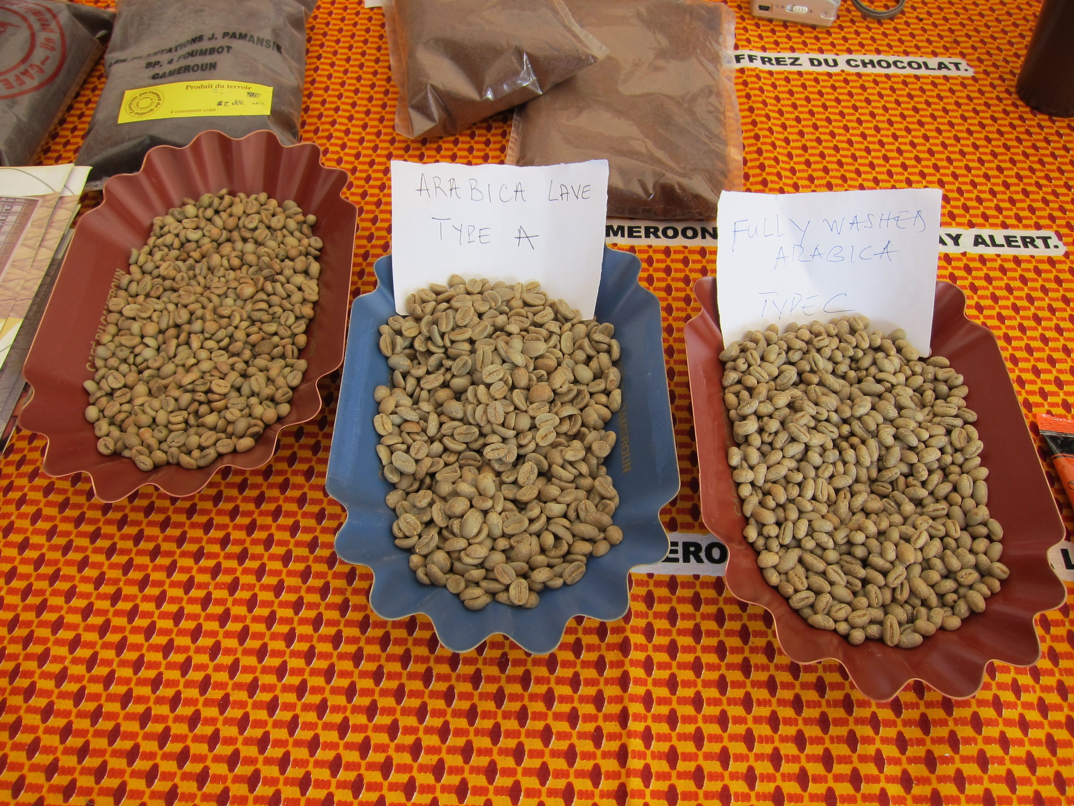 Green coffee inspection... Green coffee bean extract