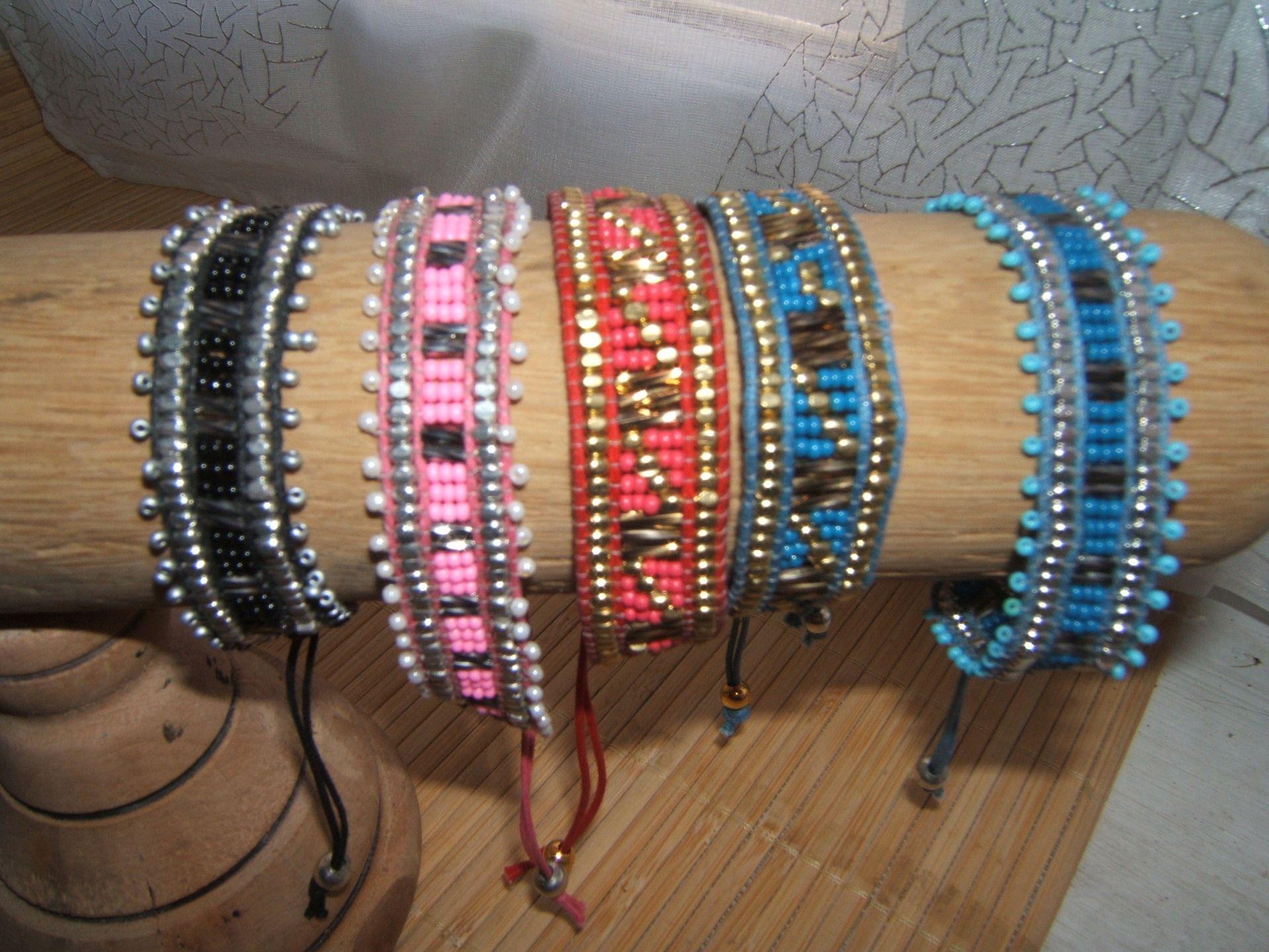 bracelet perles tissees - Recherche Google