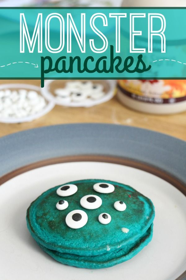 How to Make Monster Pancakes - Happily Ever Mom