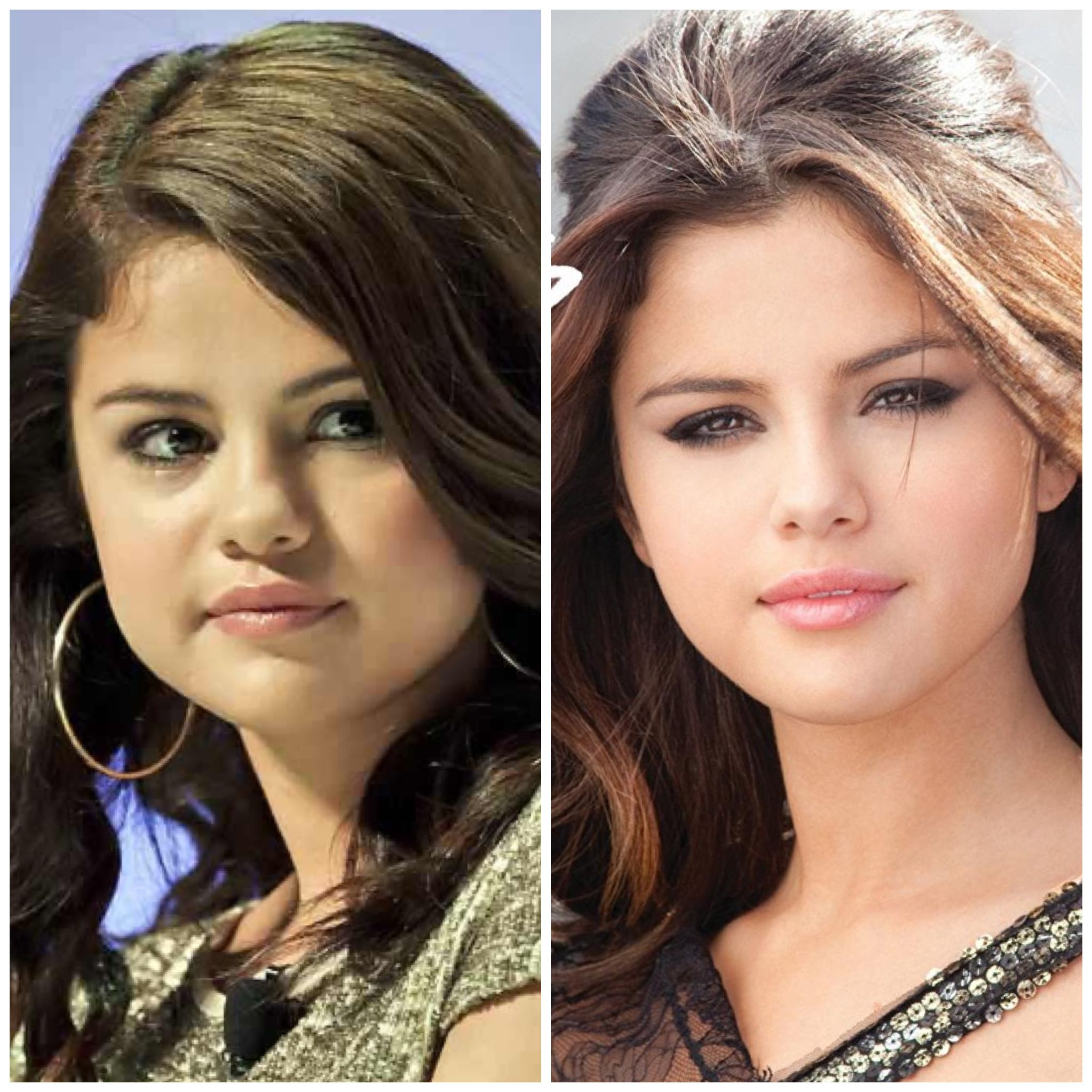 55 shocking images of celebrities before and after photoshop lady - Selena Gomez Photoshop Miracles