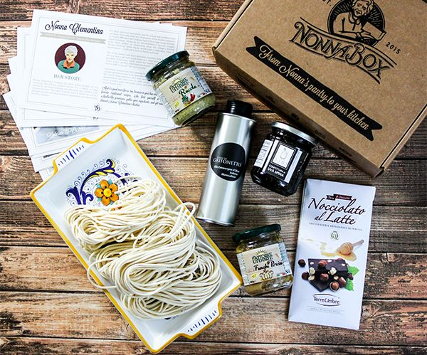 Italian Food Forever » Nonna Box Review & Contest Giveaway
