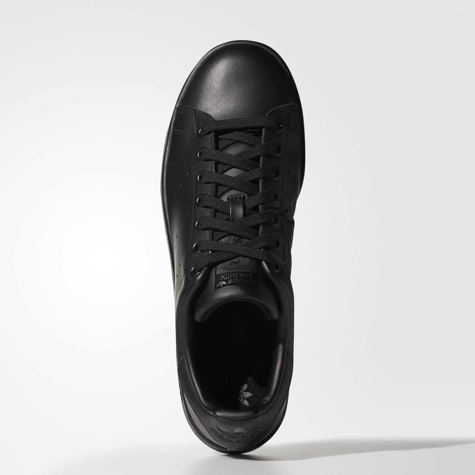Adidas Stan Smith Shoes Black Adidas Us Adidas Shoes Stan Smith Stan Smith Shoes Black Leather Sneakers