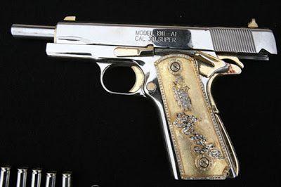 FOTOS: Las armas de lujo de los narcos en México ~ Narcoviolencia | Blog del Narco | ElBlogdelNarco
