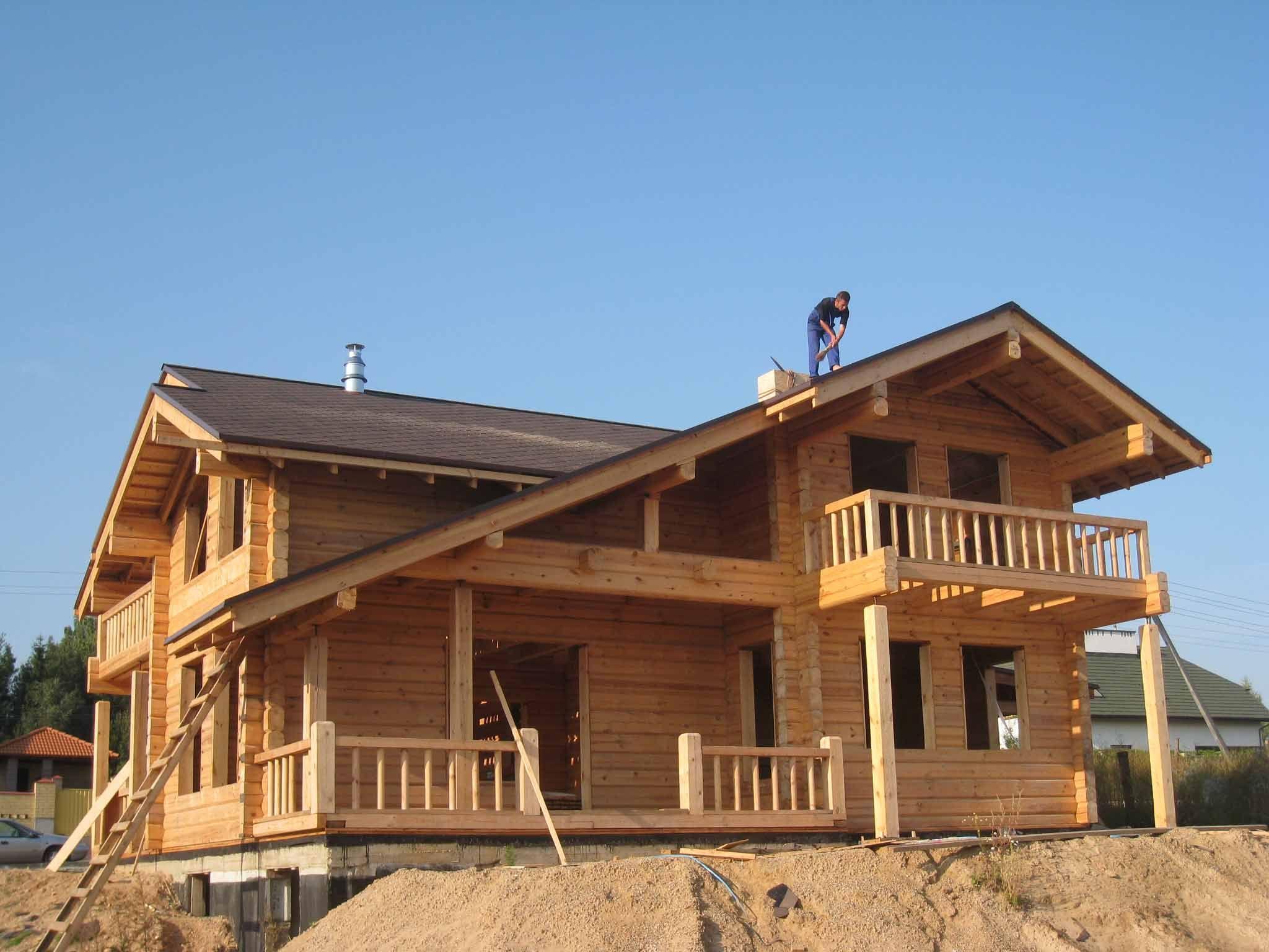 Casas de madera casfi casas de madera casas rusticas for Casas prefabricadas pequenas