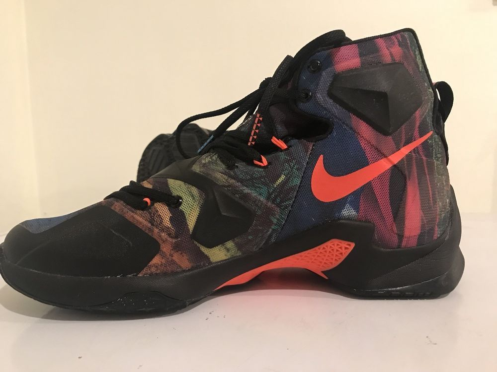 super popular 0cc62 d2996 Nike LeBron XIII 13 Akronite Philosophy 807219-008 Multi-Color US Mens Size  11.5   eBay