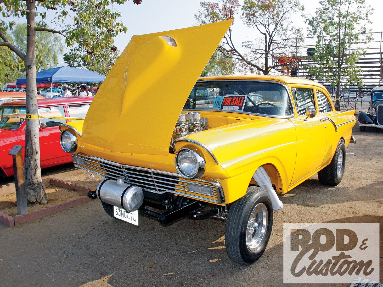 Cacha Style Race Cars 1957 Ford Gasser Hot Rods Cool Cars Old