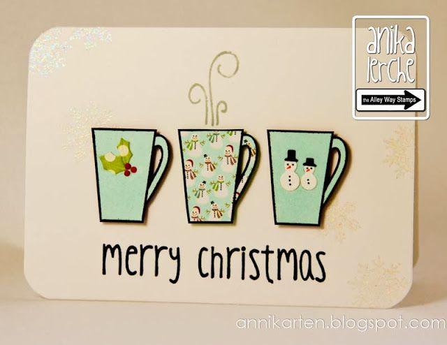 Zwei Weihnachtskarten