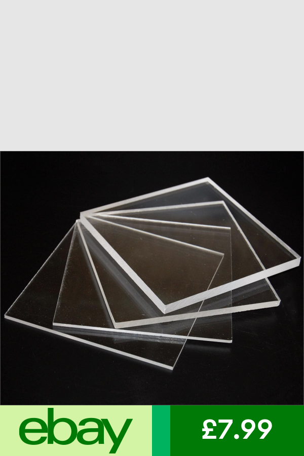 Other Diy Materials Home Furniture Diy Ebay Acrylic Panels Clear Perspex Cast Acrylic Sheet