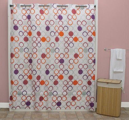 Curtain Bath Outlet Ez On Bohemia Fabric Shower Curtain