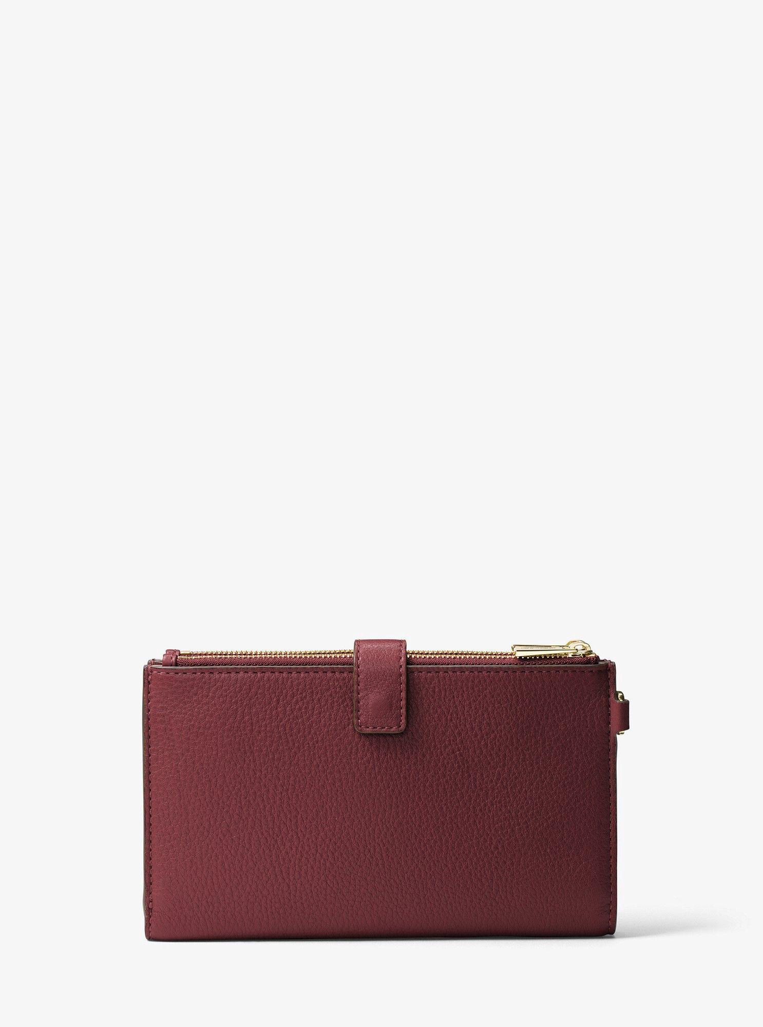 e28305be42e2 MICHAEL KORS Adele Leather Smartphone Wristlet. #michaelkors # | Michael  Kors | Wristlet wallet, Handbags michael kors, Wallet