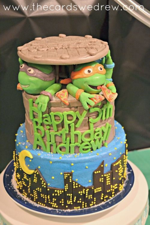 A teenage mutant ninja turtles party to write home about...easy ideas for making a SPECTACULAR party!