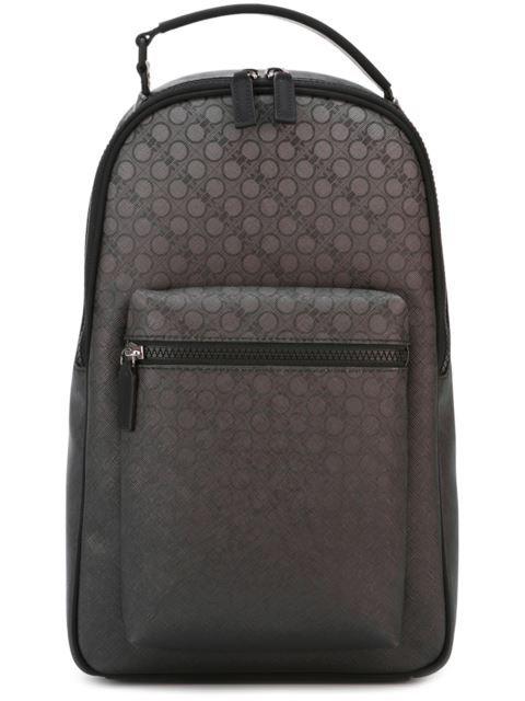 73847549e1 SALVATORE FERRAGAMO Printed Degrade Backpack.  salvatoreferragamo  bags   leather  backpacks