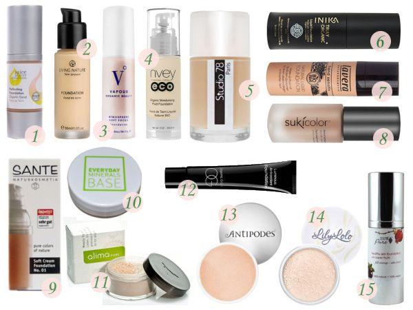 All Natural Chemical Free Makeup