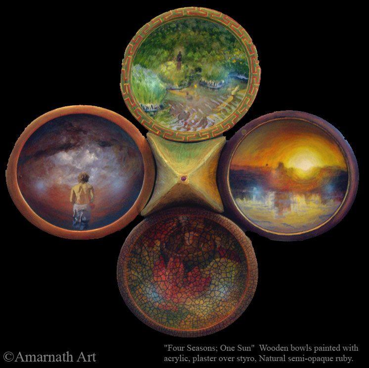 Four Seasons; One Sun by Amarnath Earl