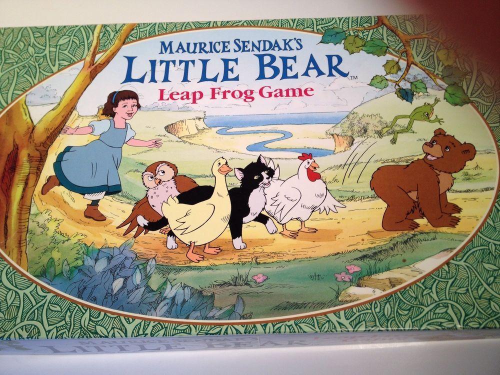 Maurice Sendak's Little Bear Leap Frog Game Vintage