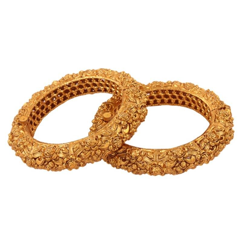 Nice gold plated antique bangle | Antique jewellery online ...