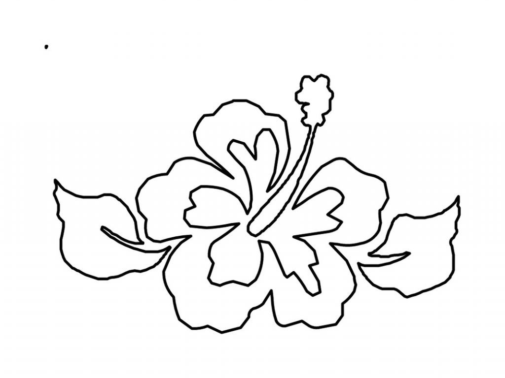 Free Printable Hibiscus Coloring Pages For Kids Flower Coloring Pages Coloring Pages Printable Flower Coloring Pages