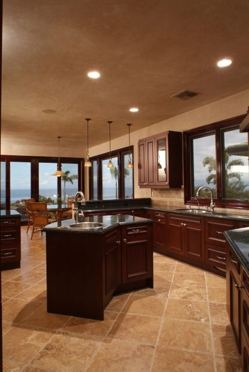 Tropical Kitchen Decor: Tropical Home Design Ideas, Pictures, Remodel And Decor
