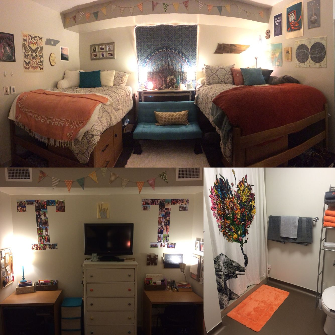 How To Make An Interesting Art Piece Using Tree Branches Ehow Dorm Room Inspiration Dorm Sweet Dorm College Decor