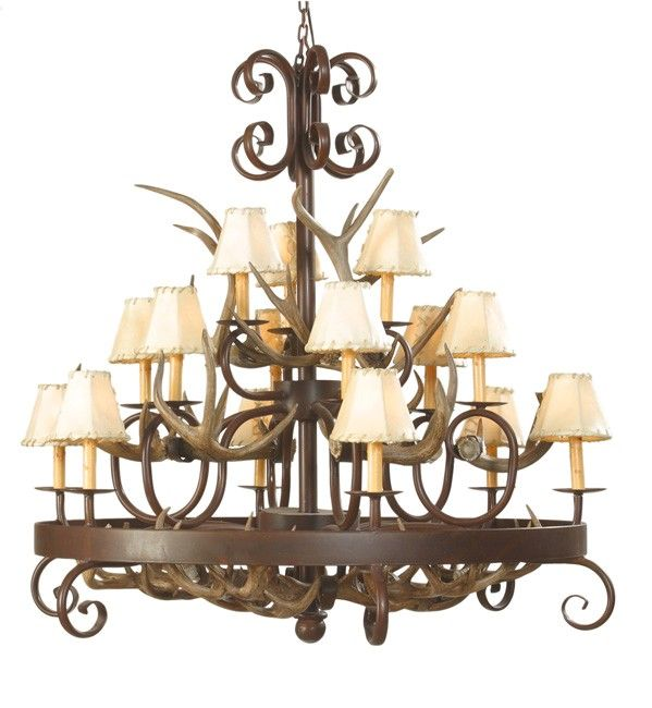 rustic chandeliers wrought iron | Furniture Lighting Bathware Bath ...