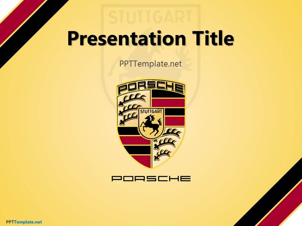 Free Porsche Ppt Template  Hi I Recommend To Visit The Link
