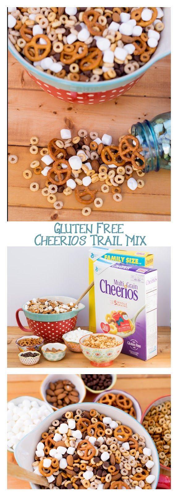 Gluten Free Cheerios Trail Mix Recipe Gluten free