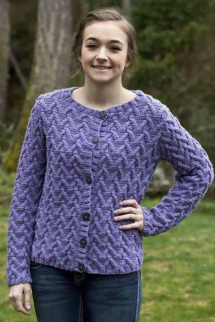 Knitting Patterns Galore - Allison Cardigan | Knitting | Pinterest