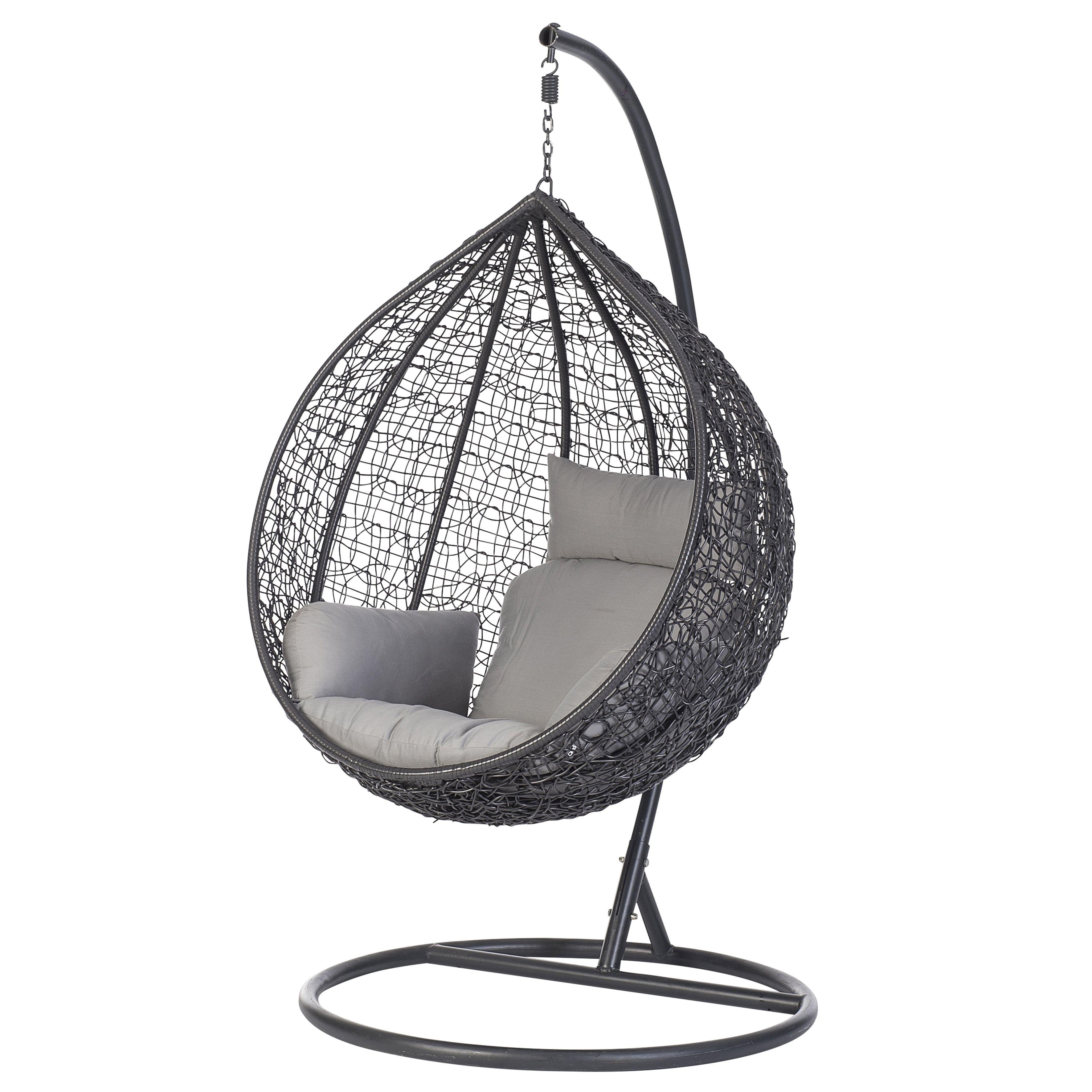 Standaard Egg Chair.Op Zoek Naar Intratuin Hangei In Standaard Donkergrijs