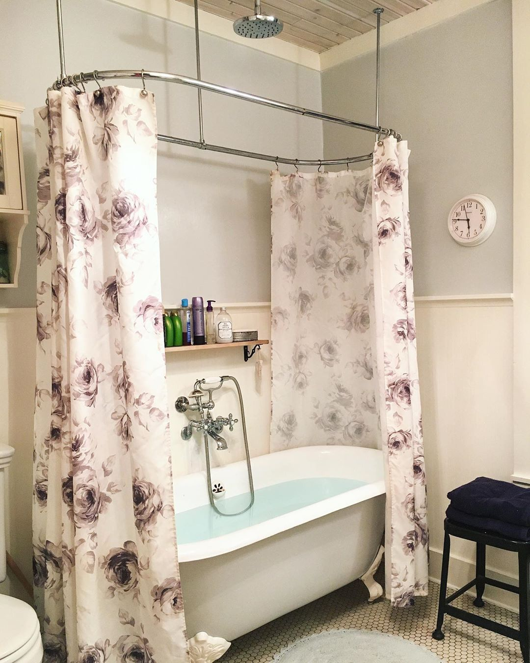 Cambridge Cast Iron Double Ended Clawfoot Tub No Faucet