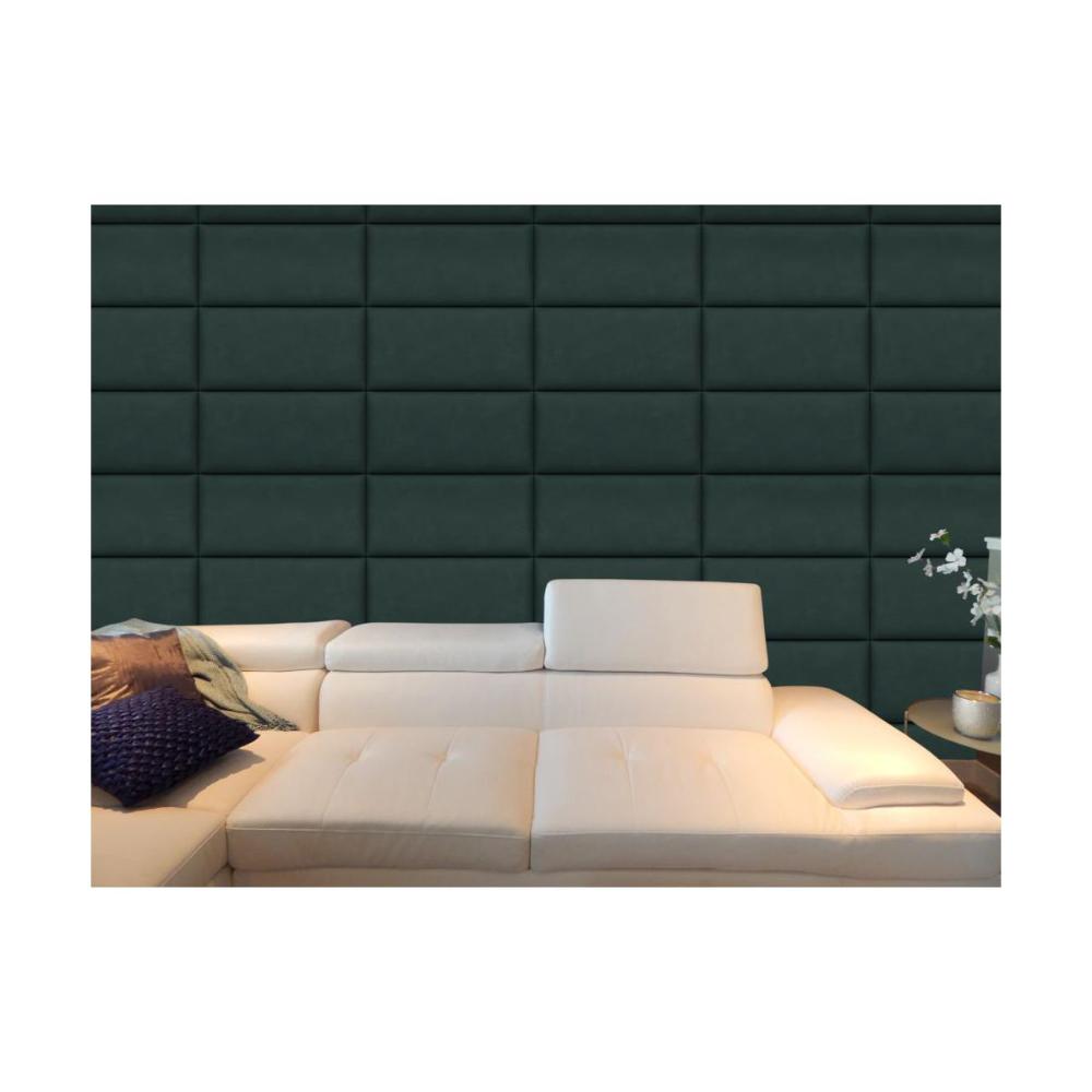 Panel Tapicerowany Ciemnozielony 60 X 30 Cm Panele Tapicerowane W Atrakcyjnej Cenie W Sklepach Leroy Merlin Sectional Couch Home Decor Home
