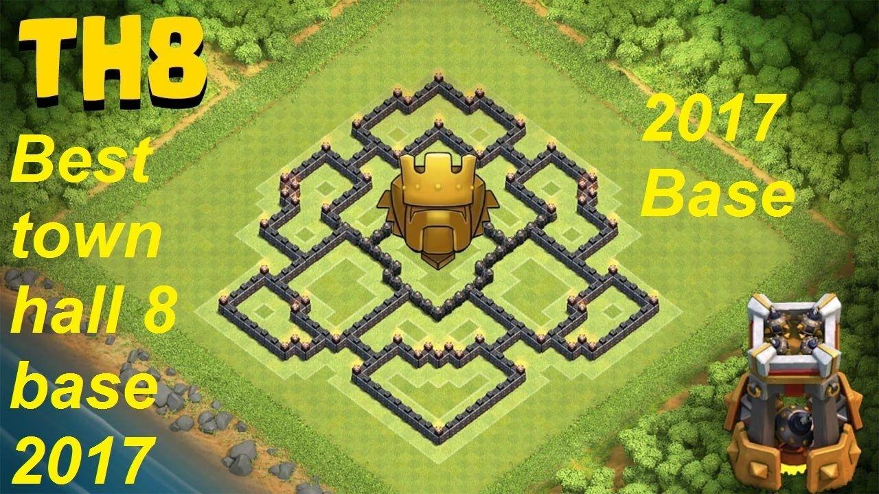 Base Coc Th 8 Terkuat Di Dunia 8