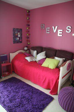 comment decorer une chambre en violet - Comment Decorer Une Chambre D Enfant