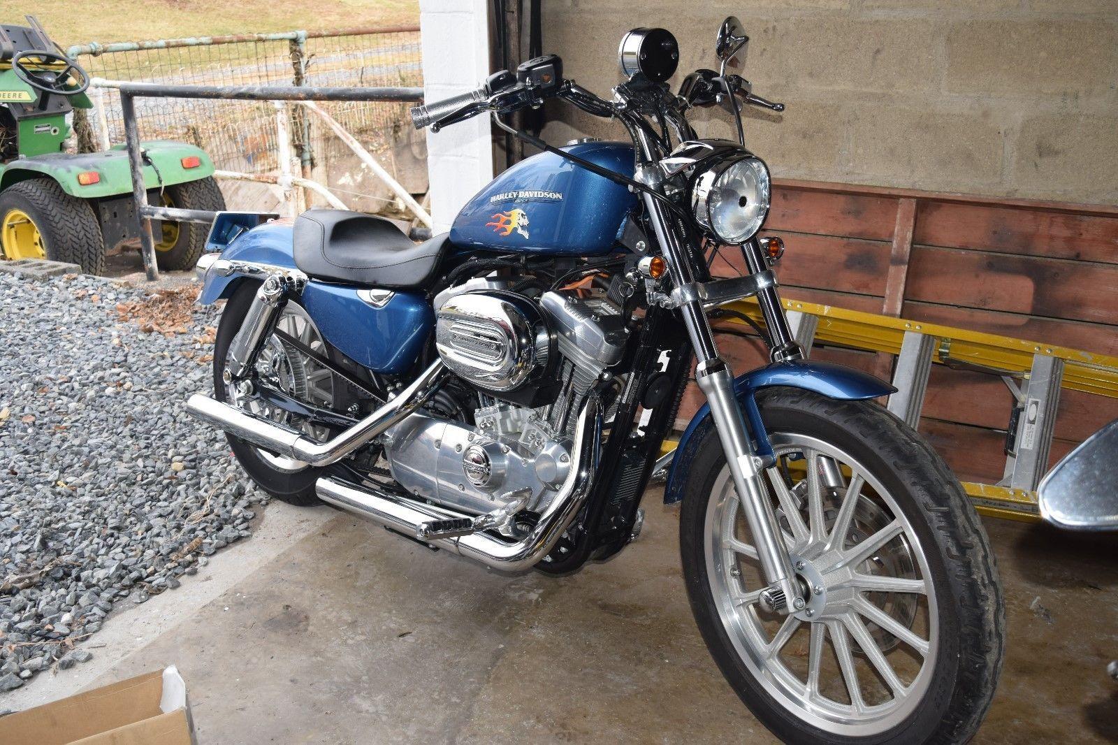 eBay: 2005 Harley-Davidson Sportster 05 HD 883 Low custom
