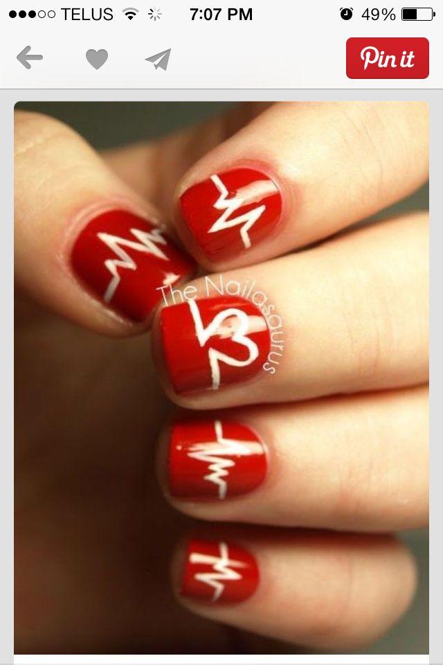 Manicura para médicas y enfermeras #nails | Broches y Stuff ...