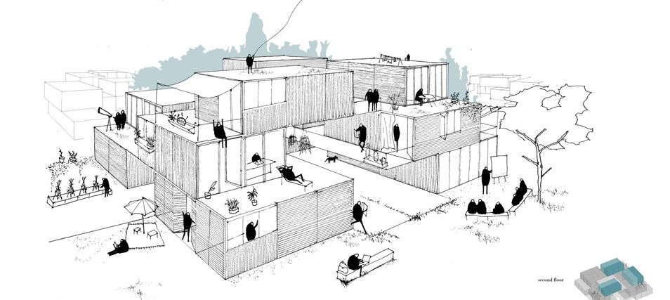Superieur Modular Building Competition Ryterna (2nd Place)   La Comunidad, Spain