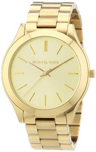 Michael Kors Women's MK3179 Runway Gold Watch Michael Kors http://smile.amazon.com/dp/B007VPSYFA/ref=cm_sw_r_pi_dp_di3Bub0CRD7X7