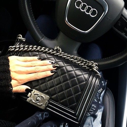 Chanel Le Boy Coco Dolce Vita La Black Luxury