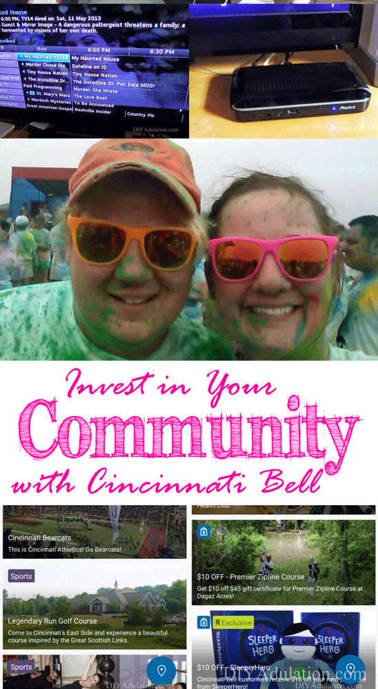 Invest in Your Community with Cincinnati Bell   *DIY Adulation ... on