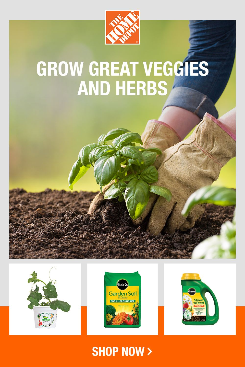 To grow good produce, you need good soil, plants and plant