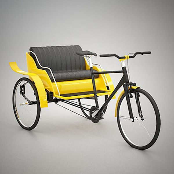 Cheap Tire Places >> 3ds rickshaw bicycle - Bicycle Rickshaw... by QLEE ...