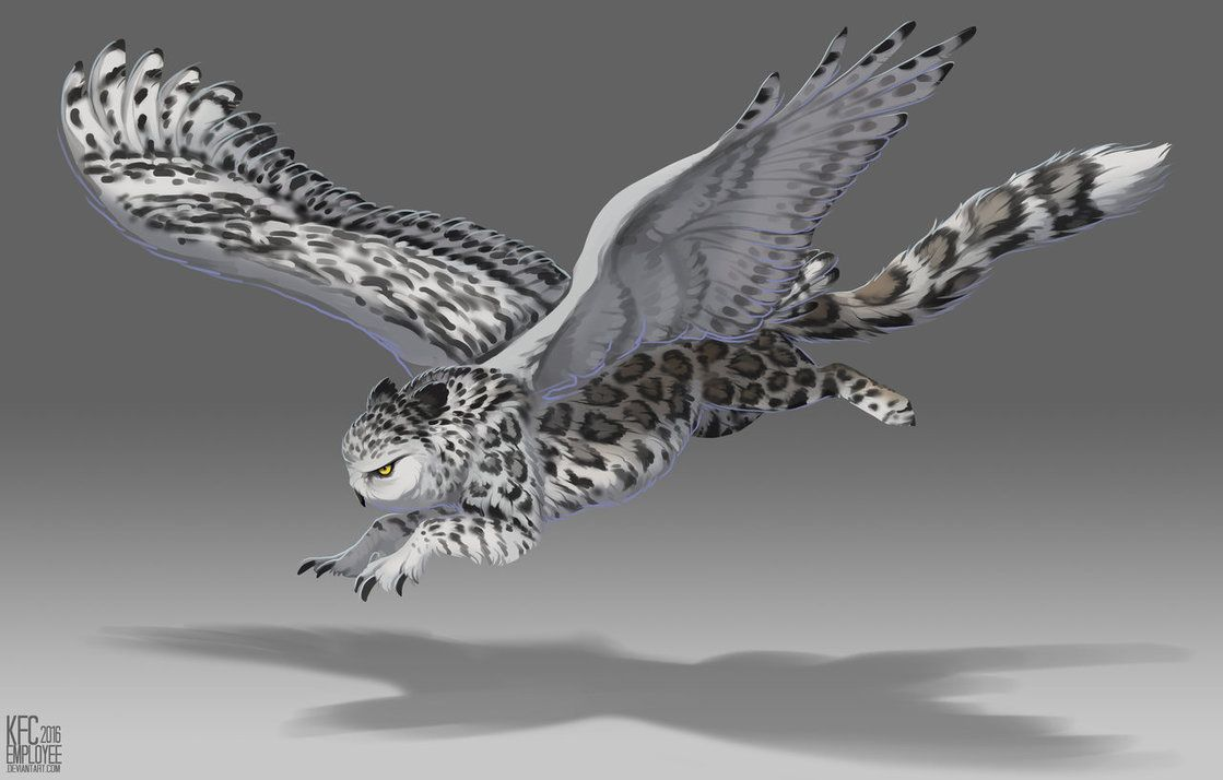 Photo of Snowy gryphon by Chickenbusiness on DeviantArt