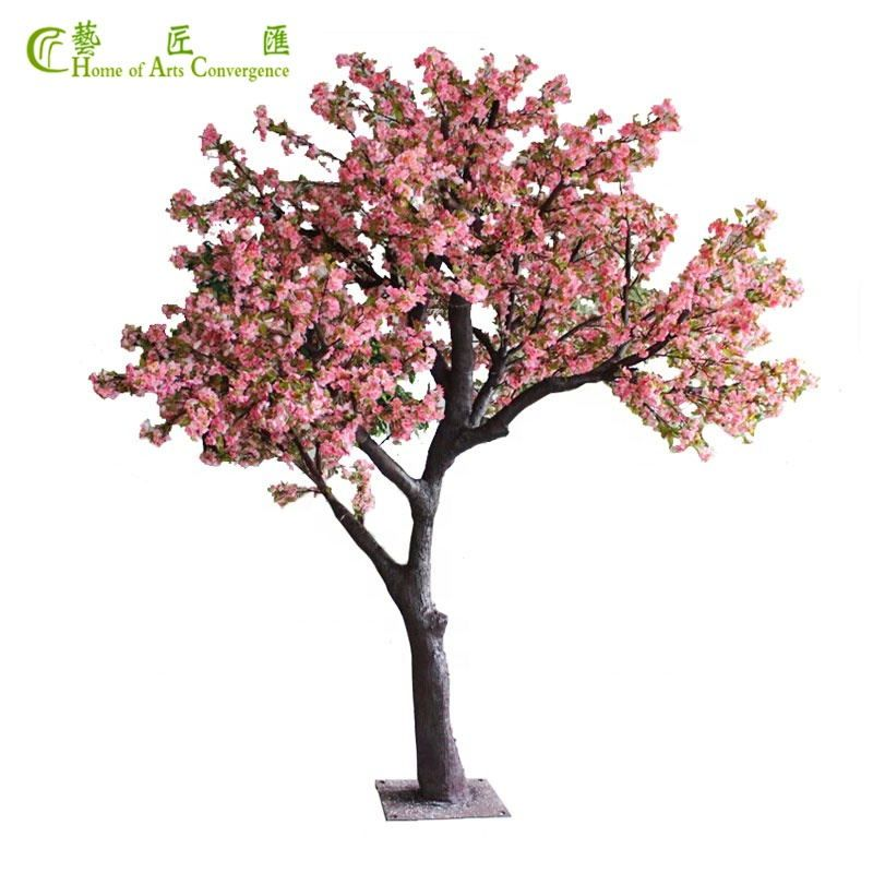 10 Ft Large Silk Pink Cherry Blossom Tree For Home Wedding Event Decoration Artificial Cherry Blossom Tree Cherry Blossom Tree Blossom Trees