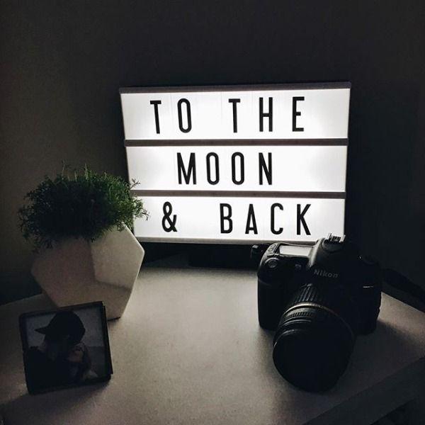 Cinema Box LED Light | Home Decor | Cinema box, Light ...