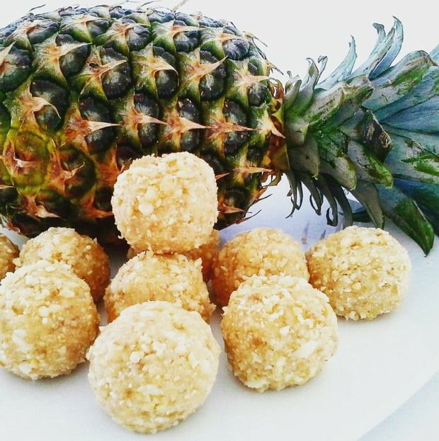 Aloha Balls #justeatrealfood #healthyliciousfoodie