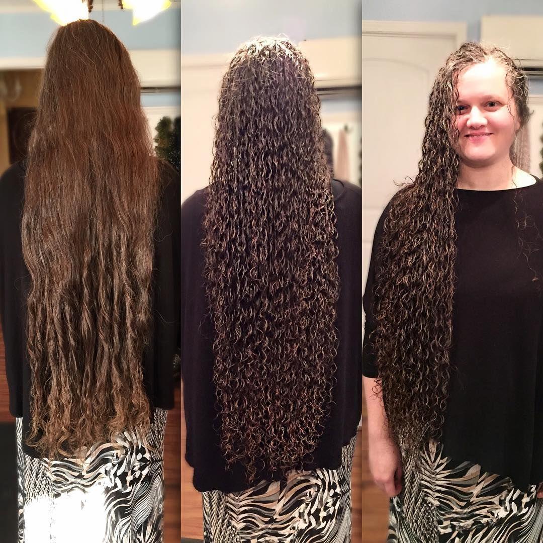 Glamorous Ringlets Permed Hairstyles Long Hair Perm Short Permed Hair