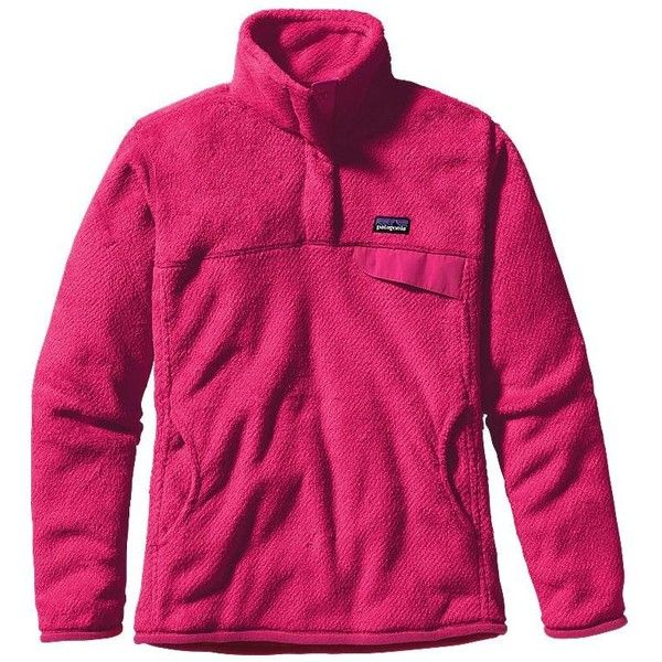 Patagonia Women's Re-Tool Snap-T® Fleece Pullover ($71) ❤ liked ...