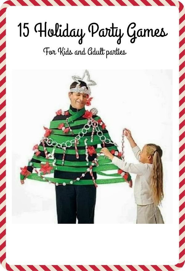15 fun holiday party games for adults or kid holiday parties bring some of these fun christmas party idea to your next party - Fun Christmas Games For Large Groups