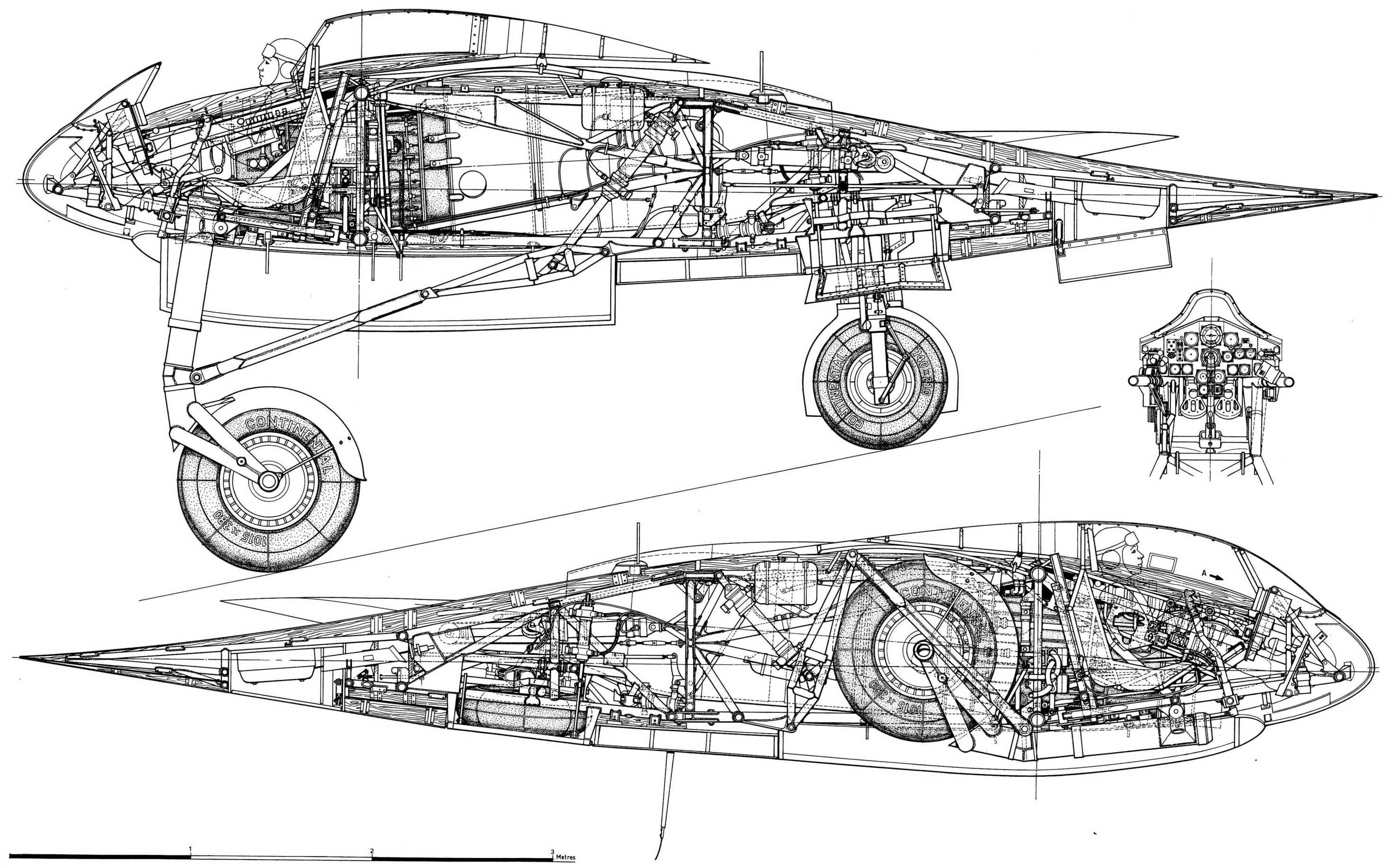 Horten Ho 229 Prototype Luftwaffe