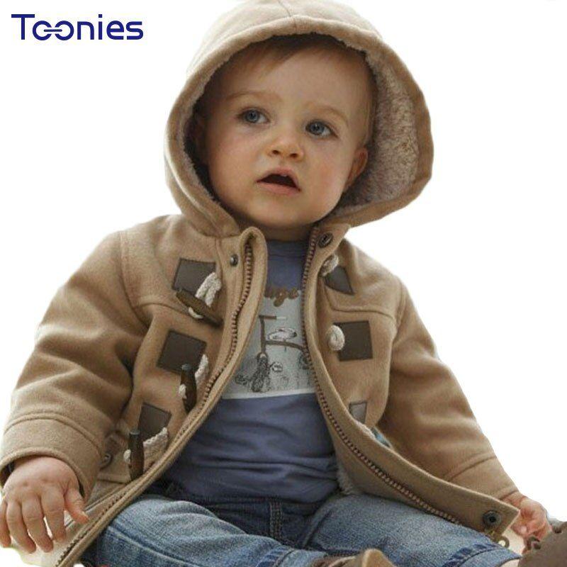 Fashion Coat Children Winter Jacket Coat Boy Jacket Warm Hooded Kids Clothes