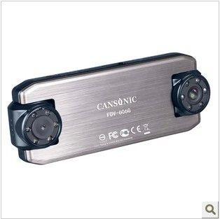 Double-wide 30 m telescope night vision Car Dvr Car Camera Recorder Video Registrator HD Dual Lens GPS track rear view camera